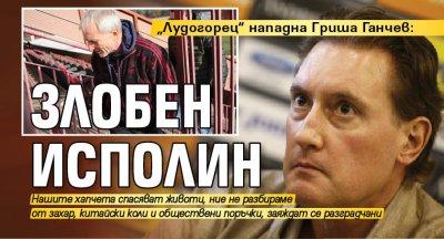 """Лудогорец"" нападна Гриша Ганчев: Злобен исполин"