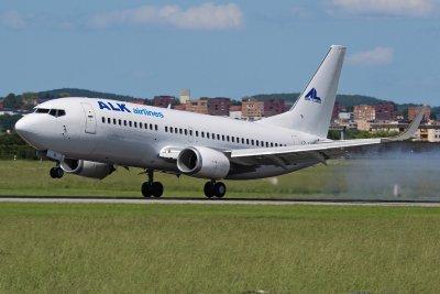 Български самолет на косъм от падане