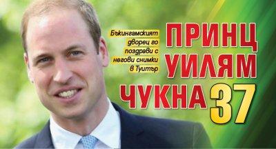 Принц Уилям чукна 37