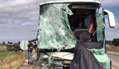 26 ранени при автобусна катастрофа в Турция