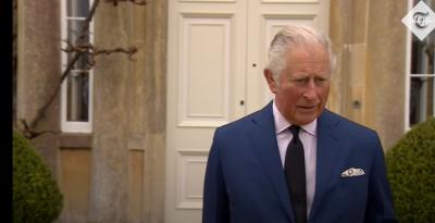 Принц Чарлз с първи думи след смъртта на баща си (Видео)