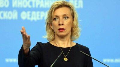 Мария Захарова: Си Ен Ен лъже за война с Украйна