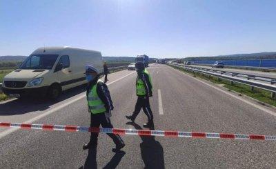 """Пътен инцидент ограничи движението по """"Марица"""""""