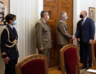 Президентът се срещна с шефа на Военния комитет на ЕС