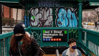 В Ню Йорк ваксинират и в метрото