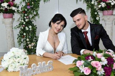 Клавдия се омъжи тайно за албанеца Хамза