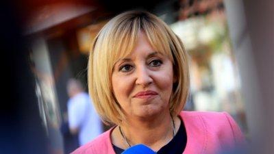 Мая Манолова: Ще имаме поне два пъти повече депутати в следващия парламент