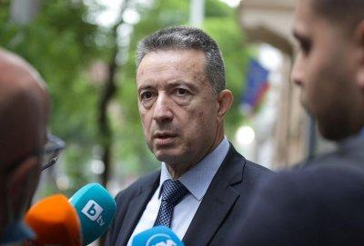 Янаки Стоилов представя екипа си в министерството
