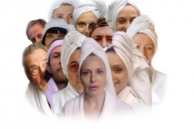 Оригинално: Актьори по халати в защита на Централната софийска баня (СНИМКИ)