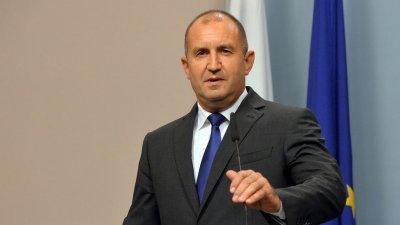 Радев: Българите се нуждаят от по-качествен живот