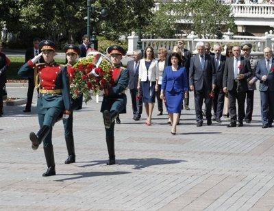 Шефката на парламента е на официално посещение в Москва