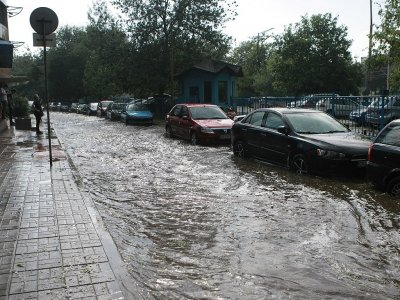 София пак е под вода