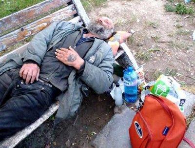 Несретник с инсулт живее на пейка в Кюстендил