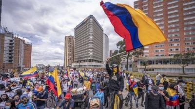 10 убити при антиправителствени протести в Колумбия