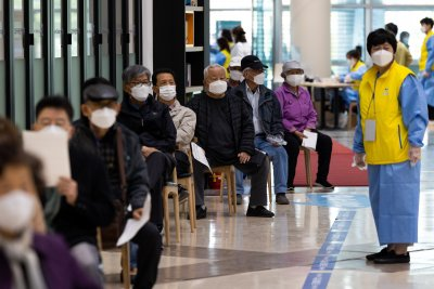 Намаление за кино за ваксинираните в Южна Корея