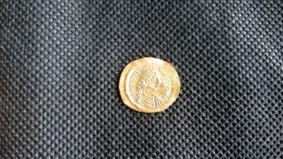 Намериха ценна златна монета в Хераклея Синтика