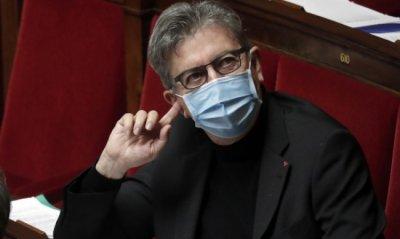 Посипаха с брашно кандидат за президент на Франция