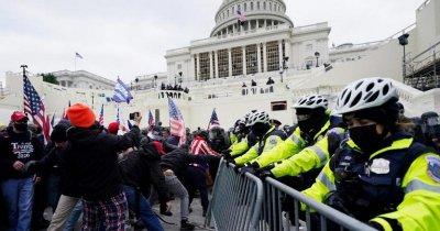 Обвиниха полицай за участие в щурма на Капитолия