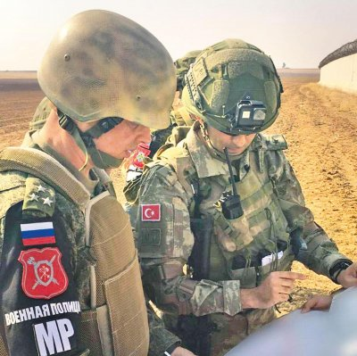Съвместна военна операция в Сирия на Русия и Турция
