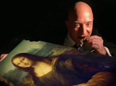 """ПРЕДОЗИРАНЕ: Безос ще яде """"Мона Лиза"""""""
