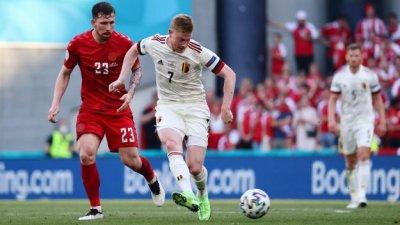 Белгия обърна Дания и записа втора победа