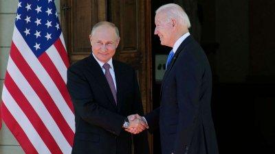 Байдън и Путин се срещнаха (НА ЖИВО)