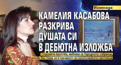 Изненада: Камелия Касабова разкрива душата си в дебютна изложба