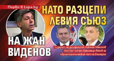 Първо в Lupa.bg: НАТО разцепи левия съюз на Жан Виденов