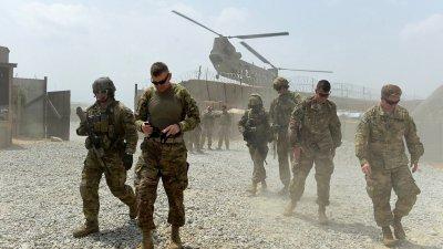 САЩ оставят около 650 войници в Афганистан