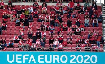 Фенове на Евро 2020 заразени с най-новия вариант на коронавируса