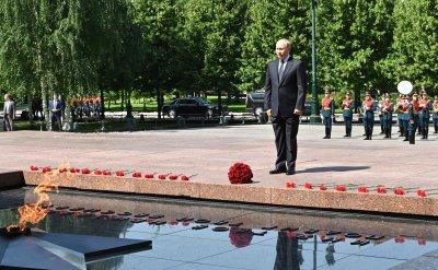Путин навръх 80-та годишнина от нападението на Хитлер: Разширяването на НАТО погреба надеждите за Европа без разделителни линии (СНИМКИ+ВИДЕО)
