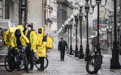 Задължителна ваксина за куриерите в Москва