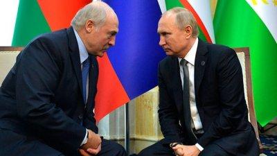 Лукашенко на крака при Путин в Санкт Петербург