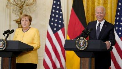 Байдън и Меркел заедно срещу Русия