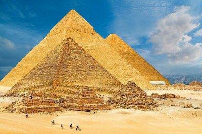 Неземният обитател на Великата пирамида