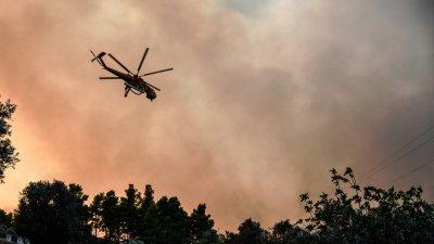 Ужас в Италия! Огромен пожар в Сардиния