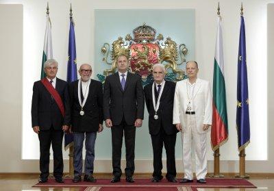Радев награди знаменити българи
