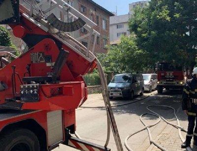 Газов бойлер се взриви в Пловдив (СНИМКИ)