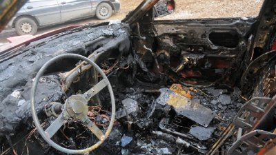 Разкриха криминално проявен, запалил колата на пазарджиклийка