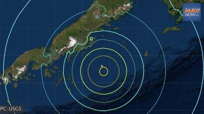 8,2 по Рихтер разтърси Аляска, предупреждават за цунами