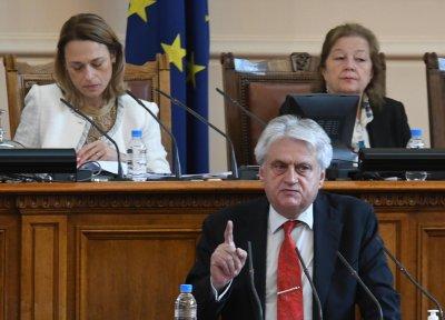 Бойко Рашков отново застава пред депутатите