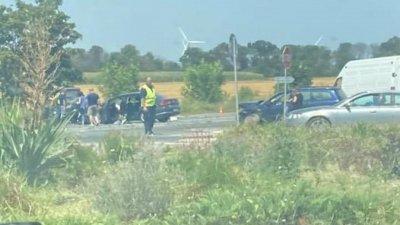 Четири жени пострадаха в катастрофа до Каварна