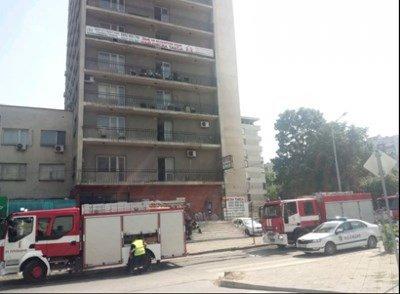 Евакуираха възрастни хора при пожар в Пловдив