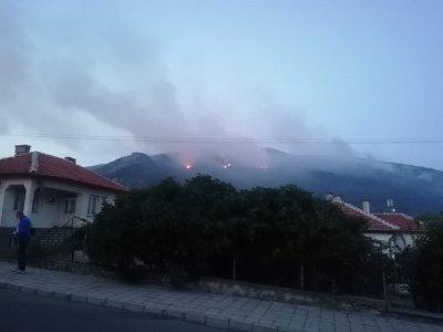 Вижте огнения ад в Твърдица (СНИМКИ)