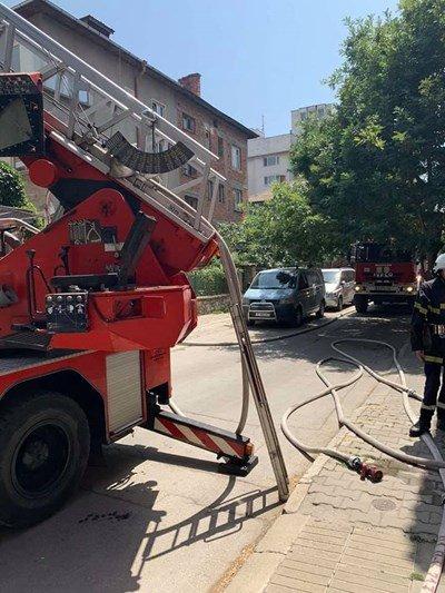 Газов бойлер гръмна в Пловдив