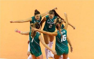 Волейболистките ни надиграха Румъния