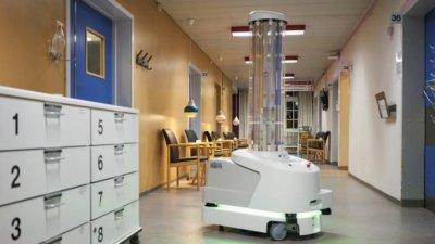 Първият робот за дезинфекция срещу COVID-19 идва у нас