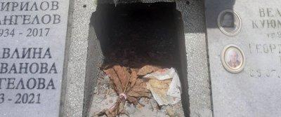 Духове витаят на Централни гробища (ШОК СНИМКИ)