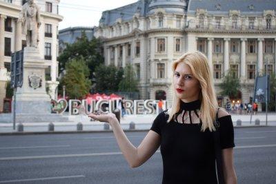 Билет срещу боклук в Букурещ