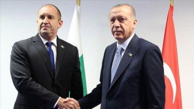 Румен Радев и Ердоган дискутираха по темите за пожарите и мигрантите